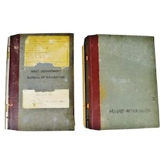 Authentic WWII United States Navy Department Historical Documents