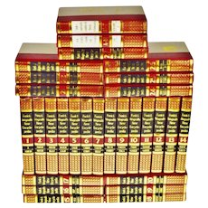 Vintage 1970's Funk & Wagnalls New Encyclopedias - Set of 29