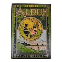 Antique Victorian Album Cover - Great Decorative Piece