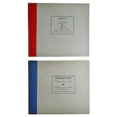 Vintage Columbia Masterworks Tchaikovsky & Liszt  78 RPM Record Sets