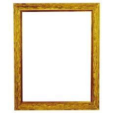 Vintage Large Scale Wood Frame