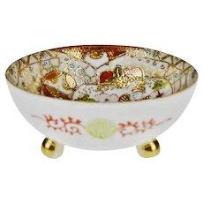 Vintage Royal Satsuma Nippon Footed Bowl