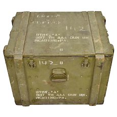 United States Army AAA Equipment Crate