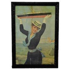 Victorian Jan Van Beers Framed Cruise Line Print