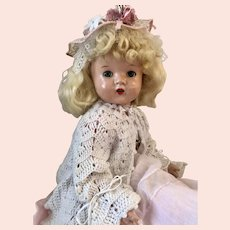 Vintage Composition Mama Doll. 22""