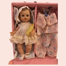 VERY rare 1950' s Little Susie Doll, Case & Wardrobe.
