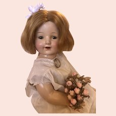 "Vintage Composition Mama Doll 22"" 1930's"