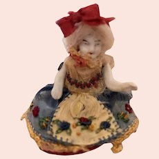 Antique German Bisque Doll in Presentation Box