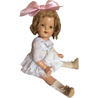 Sweet 1930's Eegee Miss Charming Doll