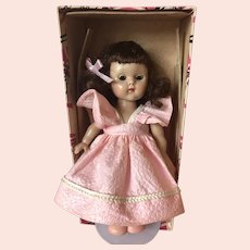 Vintage 1950's SLW Ginny Doll in Original Box. 8""