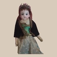 """!PROMOTION¡ 10"""" antique french eden bebe rare in this tiny size"""
