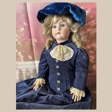 """34"""" (85cm) Bahr & Proschild 478 Antique German Bisque Doll"""