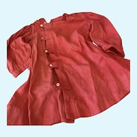 Extra Sale! Gorgeous Red Coat for Antique Vintage Doll