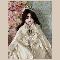 Rare Wool Antique Cape for Large Antique Doll, Jumeau in Good Condition