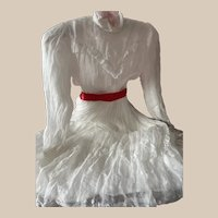 Lovely Dress Organza for Big Antique Doll