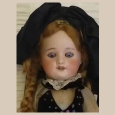 """French """"14 doll  all original UNIS FRANCE mold 60 cabinet size perfect"""