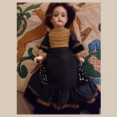 "French rare lady body  Petite Francaise J Verlingue 14"""" Liane doll"