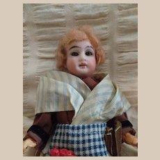 """"""" Cinderella""""  Gebruder Kuhnlenz 6"""" 1/2 original  costume mignonette doll"""