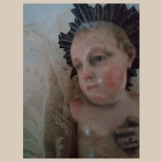 Reserved for T.  Rare wonderful '700 baby Jesus from Neapolitan creche