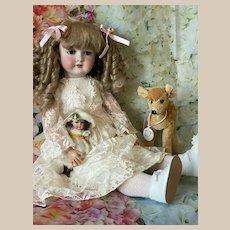 "!PROMOTION!  26"" Lovely C.M. Bergmann Waltherausen 1916 Antique Doll"