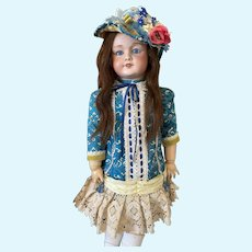 "28"" SFBJ 301 PARIS Antique French Doll"