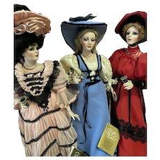 """!PROMOTION! Franklin Mint 22"""" Coca Cola Heirloom Vintage Doll"""