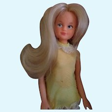 Vintage '70 italian fashion doll sebino marked with original boxed dress