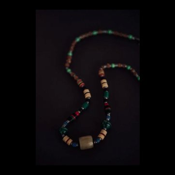Tribal Rainbow Precious Stone Necklace