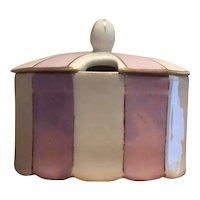 Antique Pfeiffer & Lowenstein Bohemia Austria porcelain sugar bowl