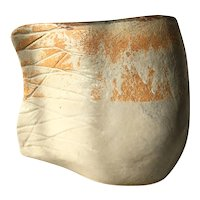 Beautiful Pottery Abstract Fish Vase