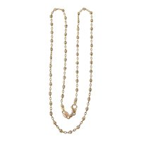 """Vintage 18k Gold Chain Italy 20""""  11.5g"""