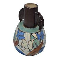 Art Deco Gouda plateel vase C.M.Bergen
