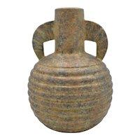RARE unfinished plateel vase by C.M.Bergen