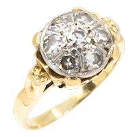 Vintage 14K Gold Diamond Engagement ring