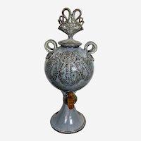 David Batz Studio Pottery Bacchus Vessel