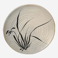 MCM Fern Giorgi Massive Studio Pottery Plate Ohio