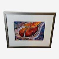 Joan Bohn Original 3D Mixed Media Modern Abstract Art