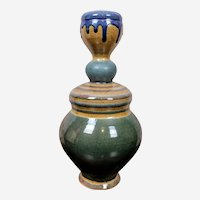 William Brouillard Studio Pottery Vase Rare