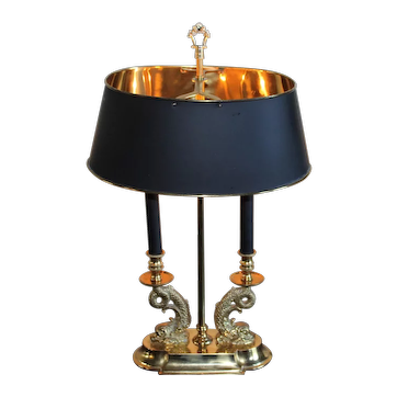 Koi fish Double Table Lamp