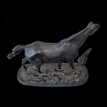 KASLI Russian Rare USSR CCCP Cast Iron Horse 1972