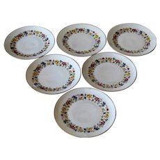 Richard Ginori Sorrento Set Of Six Salad Plates