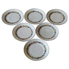 Richard Ginori Sorrento Set Of Six Bread Plates