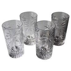 Godinger Palm Set Of Four Highball Glasses