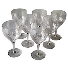 Tiffin Oaklawn Set Of Seven Wine Glasses