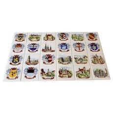 Villeroy & Boch Danischburg Germany Set Of 24 Ceramic Tiles