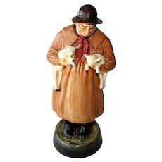 Royal Doulton England Lambing Time Vintage Figurine