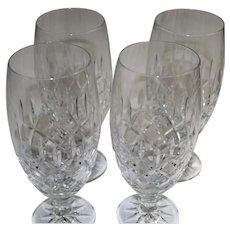 Royal Irish Crystal Set Of Four Ice Tea Glasses