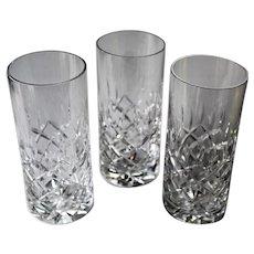 Royal Irish Crystal RIX1 Set of 3 Highball Glasses
