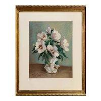 "Winifred ""Winnie"" H. Harvey (American: 1891-1964),  Hibiscus"