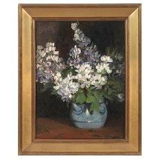 Minerva Josephine Chapman (American: 1858-1947), Lilacs